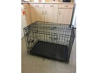 MEDIUM SIZED DOG CAGE FOR SALE