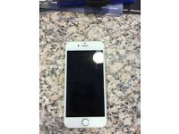 Iphone 6 White/Gold 16gb (locked to 3)