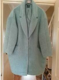 SFS: Size 20. Ladies Winter Coat (mint green)