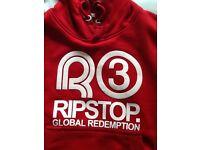Boys RIPSTOP hoodie (small boy/8-10 yrs) *AS NEW!!!!!*