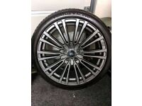 Brand new Ford Focus ST/RS 18'' alloys with new Hankook Ventus Tyres £540
