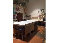 Desk space in creative studio in hackney downs! £185pm