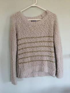 'Lipsy London' beige long-sleeve knit Auchenflower Brisbane North West Preview