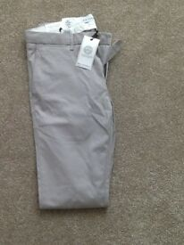 Casual slimline trousers