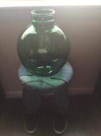 Green vintage viresa carboy