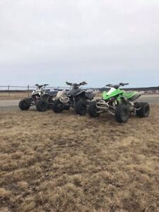Looking to buy blown up race quad CASH IN HAND