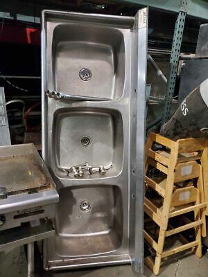Eagle 3 Bay Sink