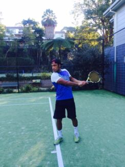 French Tennis Coach/Hitting Partner in North Sydney Area or City North Sydney North Sydney Area Preview