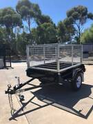 6x4 Heavy Duty Caged Trailer Mt Gambier Region Preview