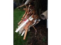 job lot wood burning wood for log burner old partition skirtings old fitted wardrobes FREE LEEDS 11