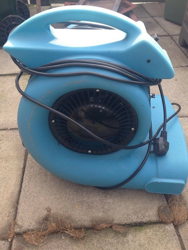 TURBO BLOWER 3 SPEED FOR DRYING CARPETS/WET WALLS