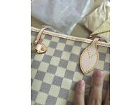 Louis Vuitton GM Damier Azure Neverfull Bag