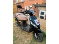 2012 Piaggio Zip 50cc Scooter/Moped Black