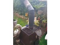 Large wood burning stove for sale