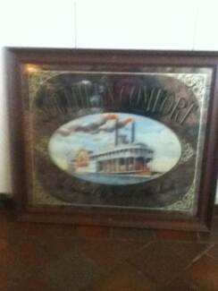 southern comfort bar mirror Martin Gosnells Area Preview