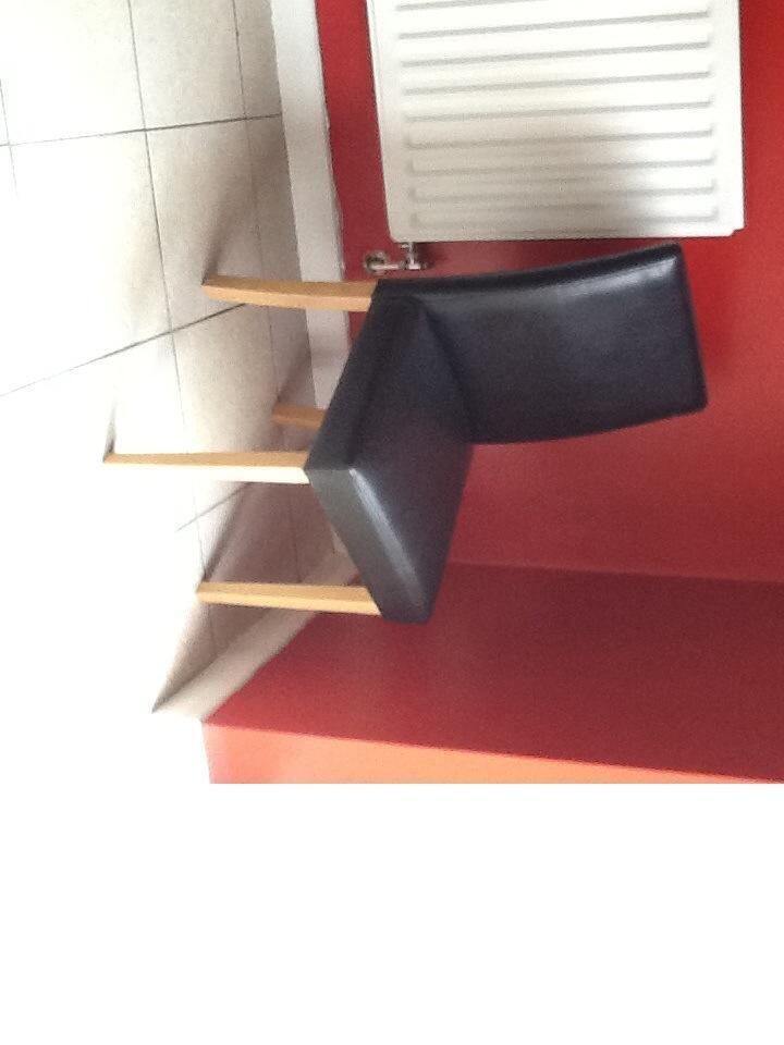 4 Brown Faux Leather Dining Chairs For Sale In Middleton Manchester Gumtree