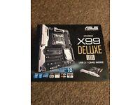 I7 5960X Gaming Bundle Asus Deluxe +Noctua NH-D15