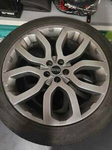 4x Genuine Range Rover Evoque Wheels