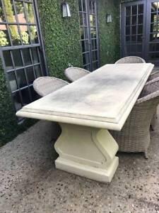Concrete Fibre Cement Outdoor Table
