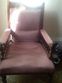 Sofa /Chaise longer and two chairs