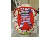 Mamas & Papas vibrating bouncy chair