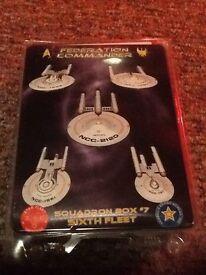 Star Trek ship models