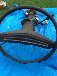 Valiant steering column with original wheel etc Stafford Brisbane North West Preview