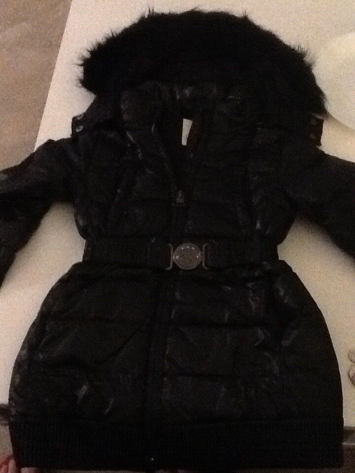 ** DIESEL GIRLS WINTER COAT AGE 4 PERFECT CONDITION ***