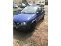 Vauxhall Corsa 1998 1.0 With **12 MONTHS M.O.T** Excellent Runner 72k Miles