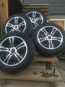195/60/15 New Tires & aftermarket Rims