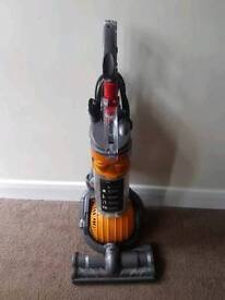 Dyson dc24 upright hoover can deliver