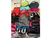 **GRADE A** Second Hand Handbags Wholsale in big quantity contact MIXED UK QUALITY