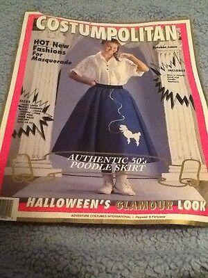 Pink Pudel Rock Kleine Mädchen 4-6 Halloween Kostüm 50er Jahre As Is
