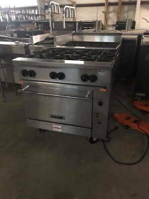 Excellent Used Vulcan Range W Convection Oven Vulcan 6 Burner Range