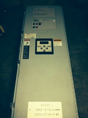 Asco 7000 Series Automatic Transfer Switch 70 Amp 480 Volt