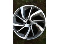 Citroen alloy wheel 17inch