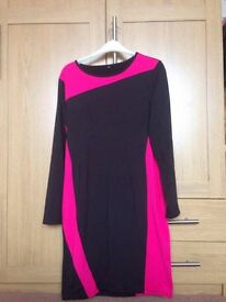 Black and Pink dress size 14