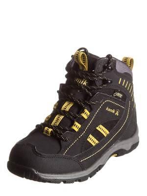 KAMIK Trekking HIGH TOP BOOTS,NAVIGATOR G BLACK EUR 37  (N33)  boys womens uk4