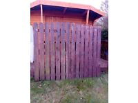 Wooden gate for sale