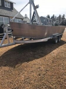 22'x9' Martin's oyster/mussel boat