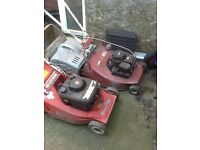 Lawn mowers job lot non runners (do not currently run)