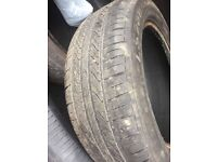 4 used Tyres 185/55/R15 for sale