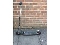 Micro scooter for adult or child over 12 years of age, nearly new.