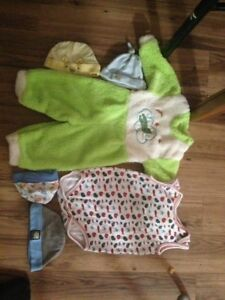 Old baby clothes. Sons out grown.