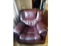Leather suite 2, 1, 1