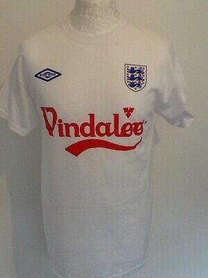 ENGLAND 'VINDALOO' FOOTBALL TEAM T SHIRT MEDIUM