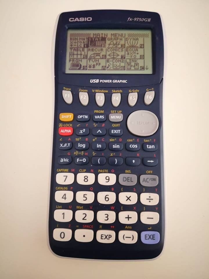 Casio FX 9750GII Graphical Calculator (A level mathsin Chandlers Ford, Hampshire - Perfect condition, for A level Maths. Selling as Ive just finished my exams