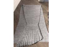 Mermaid blanket for sale.