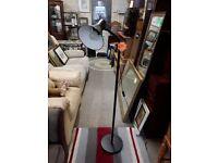 Black metal floor spot light Copley Mill Low Cost Moves 2nd Hand Furniture STALYBRIDGE SK15 3DN