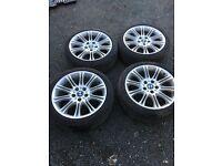BMW 18 inch alloys
